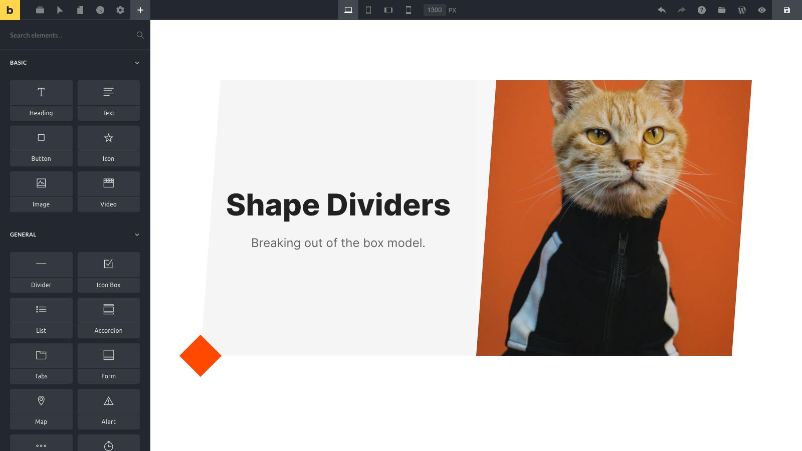 Design - Shape Dividers